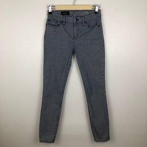J. Crew Strip Toothpick Skinny Jeans